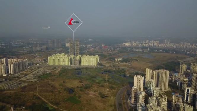 1500 sqft, 3 bhk Apartment in Builder Adhiraj Capital City Subvention Scheme Till DEC 20 Kharghar Sector 37 Kharghar, Mumbai at Rs. 1.0000 Cr