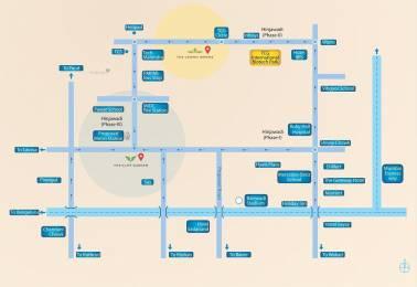 939 sqft, 2 bhk Apartment in TCG The Cliff Garden Hinjewadi, Pune at Rs. 40.8000 Lacs