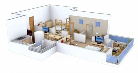 1095 sqft, 2 bhk Apartment in Ajnara Integrity Raj Nagar Extension, Ghaziabad at Rs. 7500
