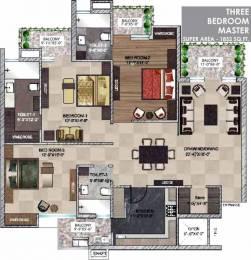 1852 sqft, 3 bhk Apartment in  Maya Garden City Nagla, Zirakpur at Rs. 15100