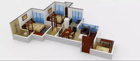 1135 sqft, 2 bhk Apartment in Prateek Laurel Sector 120, Noida at Rs. 12500