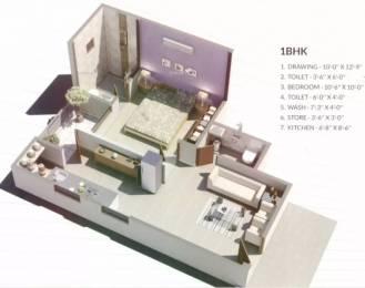 666 sqft, 1 bhk Apartment in Armaan Nandanvan Nikol, Ahmedabad at Rs. 14.5000 Lacs