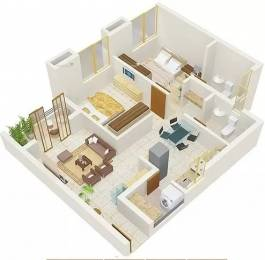850 sqft, 2 bhk Apartment in Amanora Trendy Homes Hadapsar, Pune at Rs. 21000