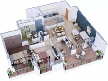 1575 sqft, 2 bhk Apartment in Tata Capitol Heights Rambagh, Nagpur at Rs. 40000