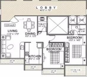 1225 sqft, 2 bhk Apartment in Reliable Balaji Heights Seawoods, Mumbai at Rs. 1.5500 Cr