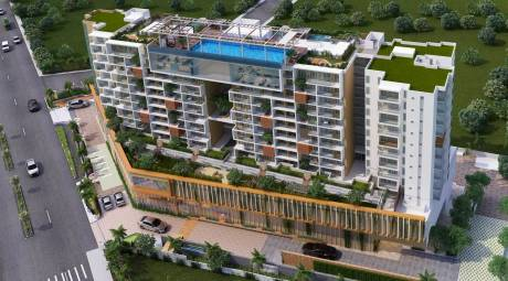 2182 sqft, 3 bhk Apartment in Vajram Esteva Bellandur, Bangalore at Rs. 1.4619 Cr