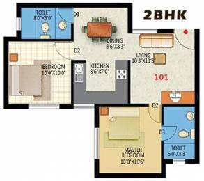 775 sqft, 2 bhk Apartment in Martin Nandavanam Saravanampatty, Coimbatore at Rs. 30.0000 Lacs