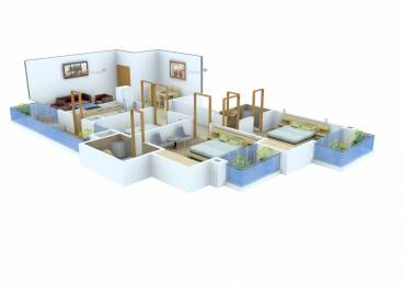 1560 sqft, 3 bhk Apartment in Bestech Park View Residences Sector 66, Mohali at Rs. 1.1000 Cr