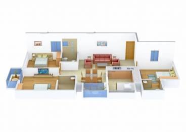 1300 sqft, 3 bhk Apartment in Confident Avior Chenkottukonam, Trivandrum at Rs. 65.0000 Lacs
