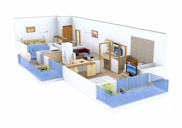 1180 sqft, 2 bhk Apartment in Gaursons Gaur Cascades Raj Nagar Extension, Ghaziabad at Rs. 50.0000 Lacs