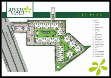767 sqft, 2 bhk Apartment in Shree Green Court Sector 90, Gurgaon at Rs. 24.1000 Lacs
