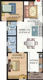 1056 sqft, 2 bhk Apartment in Pragati Plaza Electronic City Phase 2, Bangalore at Rs. 14000