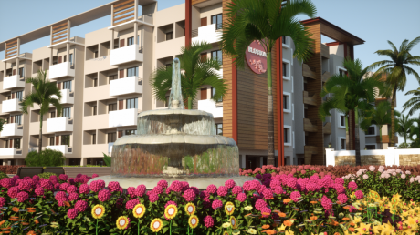 719 sqft, 1 bhk Apartment in Advaita Blossom Kelambakkam, Chennai at Rs. 32.7700 Lacs