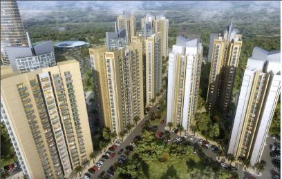 1400 sqft, 2 bhk Apartment in Shalimar Oneworld Vista gomti nagar extension, Lucknow at Rs. 59.0000 Lacs