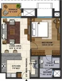 702 sqft, 1 bhk Apartment in Lodha Belmondo Gahunje, Pune at Rs. 66.0000 Lacs