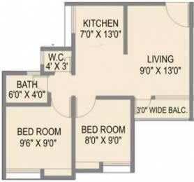 602 sqft, 2 bhk Apartment in Maple Aapla Ghar Sanaswadi Sanaswadi, Pune at Rs. 27.0000 Lacs