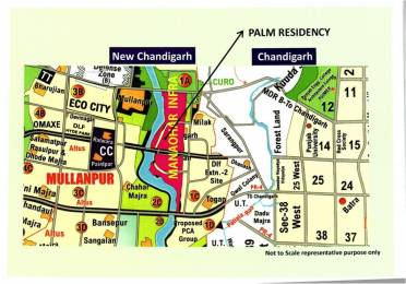1944 sqft, Plot in Manohar Palm Residency Mullanpur, Mohali at Rs. 65.0000 Lacs