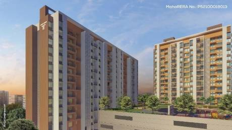 855 sqft, 2 bhk Apartment in Builder rama fusion tower phase 3 hinjewadi pune Hinjewadi, Pune at Rs. 47.0000 Lacs