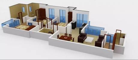 1765 sqft, 3 bhk Apartment in Prateek Laurel Sector 120, Noida at Rs. 18000