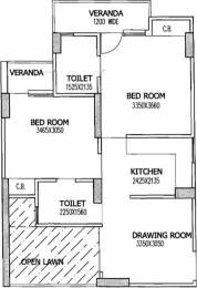 860 sqft, 2 bhk Apartment in Gaursons 4th Avenue Sector 4 Noida Extension, Greater Noida at Rs. 7500