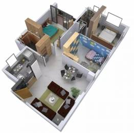 1071 sqft, 3 bhk Apartment in Srijan Greenfield City Elite Behala, Kolkata at Rs. 40.0000 Lacs
