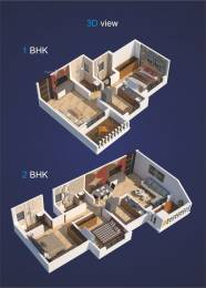 680 sqft, 1 bhk Apartment in Kohinoor Luxuria Kalyan East, Mumbai at Rs. 45.0000 Lacs