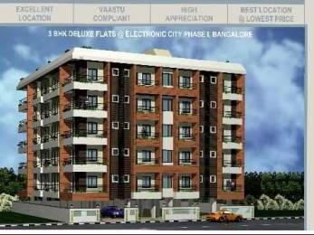 1630 sqft, 3 bhk Apartment in Builder Haripriya Electronic City Electronic City Phase 1, Bangalore at Rs. 75.0000 Lacs
