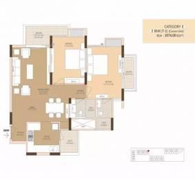 1076 sqft, 2 bhk Apartment in Ashadeep Ananta Jagat Sector 14 Bhiwadi, Bhiwadi at Rs. 32.0000 Lacs
