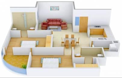 1292 sqft, 2 bhk Apartment in Pearls Nirmal Chhaya Towers VIP Rd, Zirakpur at Rs. 41.0000 Lacs
