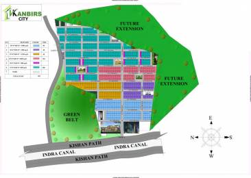 1500 sqft, Plot in Builder Kanbirs City New Jail Road, Lucknow at Rs. 7.5000 Lacs
