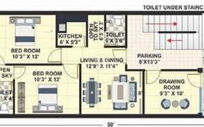 839 sqft, 2 bhk Apartment in Kohinoor Reina Kondhwa, Pune at Rs. 70.6812 Lacs