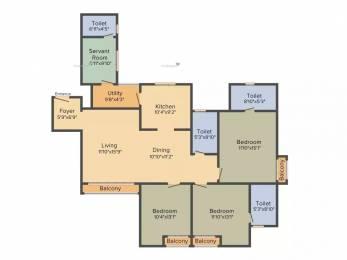 1817 sqft, 3 bhk Apartment in Sobha Heritage Rajarajeshwari Nagar, Bangalore at Rs. 1.3900 Cr