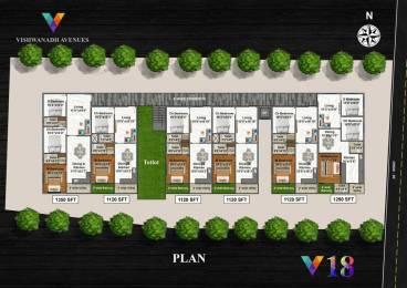 1350 sqft, 3 bhk Apartment in Builder Project Madhurawada, Visakhapatnam at Rs. 47.2500 Lacs