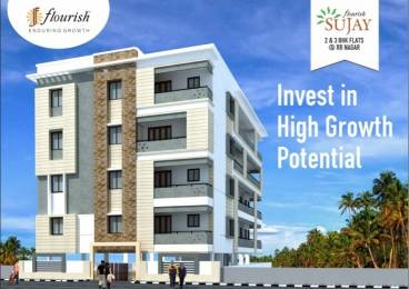 1522 sqft, 3 bhk Apartment in Builder Swasthik Flourish Sujay 5th Stage BEML Layout, Bangalore at Rs. 77.6200 Lacs