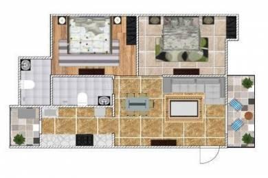 1123 sqft, 2 bhk Apartment in Dhanuka Sunshine Prime Mansarovar Extension, Jaipur at Rs. 12000