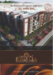1330 sqft, 3 bhk Apartment in Akshaya Regalia Subramanyapura, Bangalore at Rs. 56.0000 Lacs