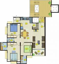 1705 sqft, 3 bhk Apartment in Safal Parivesh Prahlad Nagar, Ahmedabad at Rs. 1.3000 Cr