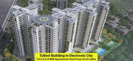 1241 sqft, 2 bhk Apartment in Kolte Patil iTowers Exente Electronic City Phase 2, Bangalore at Rs. 78.0000 Lacs