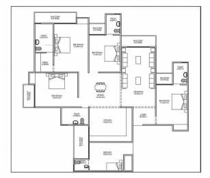 2350 sqft, 4 bhk Apartment in Builder Project Dwarka New Delhi 110075, Delhi at Rs. 96.8000 Lacs