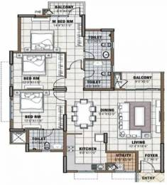1632 sqft, 3 bhk Apartment in Prestige Tranquility Budigere Cross, Bangalore at Rs. 21000