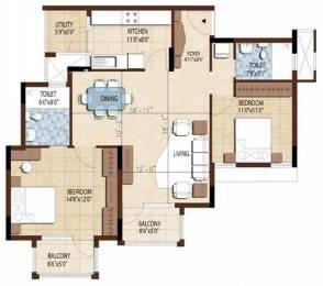 1387 sqft, 2 bhk Apartment in Purva Bluemont Singanallur, Coimbatore at Rs. 71.0000 Lacs