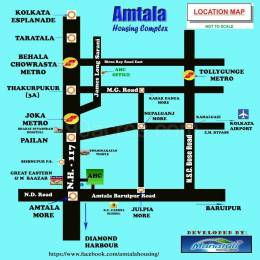 1800 sqft, Plot in Manafuli Amtala Housing Complex Amtala, Kolkata at Rs. 7.5000 Lacs