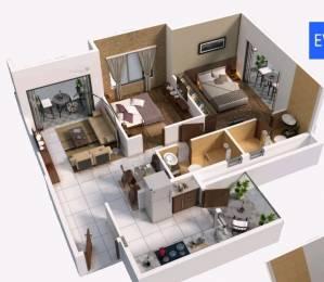 1128 sqft, 2 bhk Apartment in Jay Sai Shrushti Anandwalli Gaon, Nashik at Rs. 52.0000 Lacs