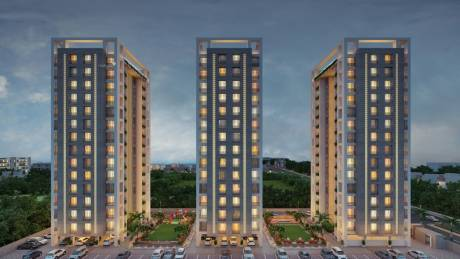 1173 sqft, 2 bhk Apartment in Santvan Skyon Palanpur, Surat at Rs. 42.6100 Lacs