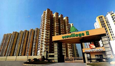 1106 sqft, 2 bhk Apartment in Supertech Eco Village 2 Sector 16B Noida Extension, Greater Noida at Rs. 9000
