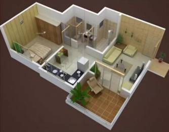 636 sqft, 1 bhk Apartment in ND NestWorth Bhosari, Pune at Rs. 37.0000 Lacs