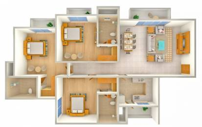 1745 sqft, 3 bhk Apartment in ATS Kocoon Sector 109, Gurgaon at Rs. 24000