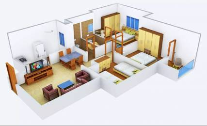 1075 sqft, 3 bhk Apartment in Provident Welworth City Doddaballapur, Bangalore at Rs. 44.0000 Lacs