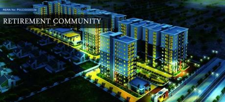 757 sqft, 1 bhk Apartment in Builder saket pranamam kompally Kompally, Hyderabad at Rs. 28.7660 Lacs