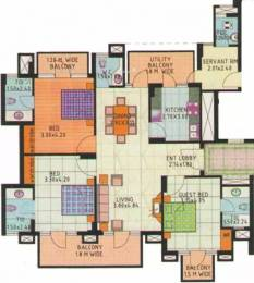 1875 sqft, 3 bhk Apartment in JMD Gardens Sector 33, Gurgaon at Rs. 1.2500 Cr